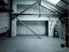 Atelier del escultor György Jovánivics en Budapest construido en los años 70 con hormigón celular. Este taller fue ampliación de una casa antigua que no soportaba cargas extras que suponía el levantamiento de un nivel adicional. La ejecución de la obra han hecho con métodos caseros bajo la supervision del arquitecto István Szövényi.
