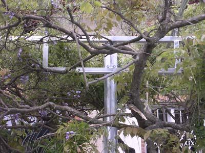 P rgola para un jardin opensourcearchitecture - Pergolas para jardines ...