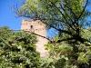 vista del castillo desde la calle