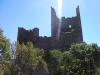 parte trasera del castillo