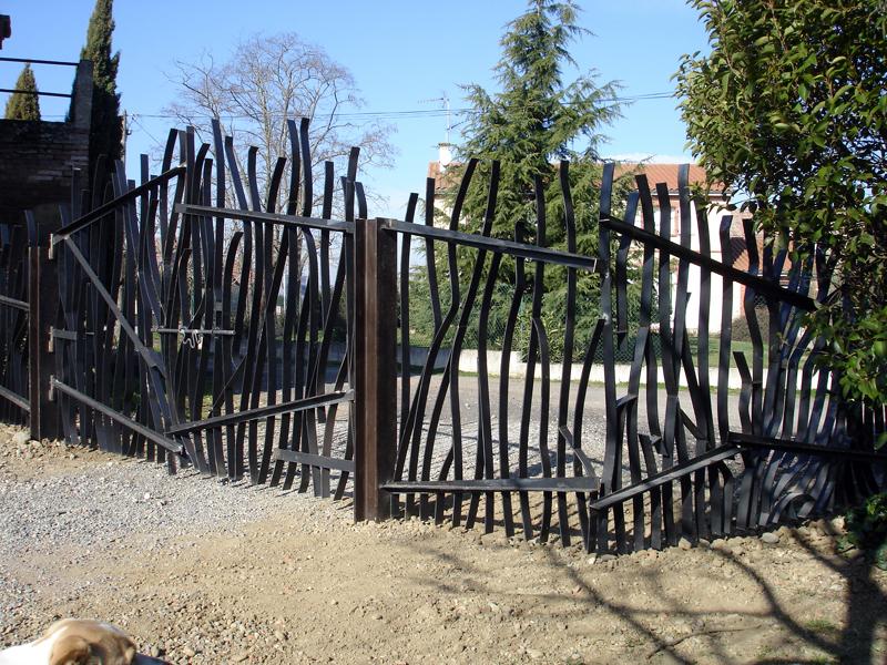 Rejas para una finca opensourcearchitecture for Reja para jardin vertical