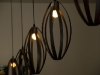 lámparas puestas